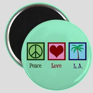 Peace Love L.A. Magnet