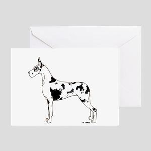 C Harl Standing Greeting Card