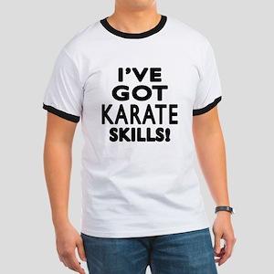 Karate Skills Designs Ringer T