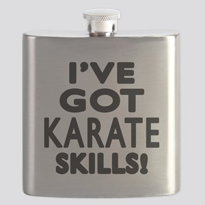 Karate Skills Designs Flask