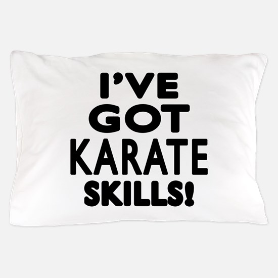 Karate Skills Designs Pillow Case