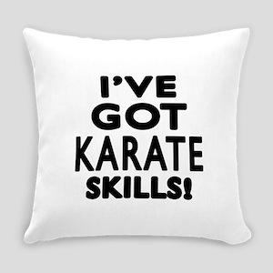 Karate Skills Designs Everyday Pillow