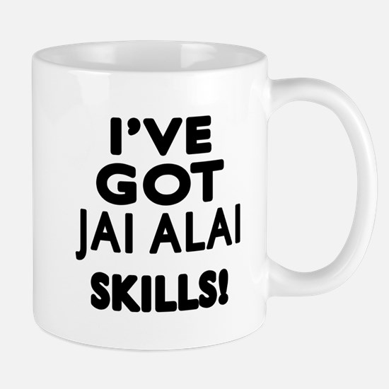 Jai Alai Skills Designs Mug