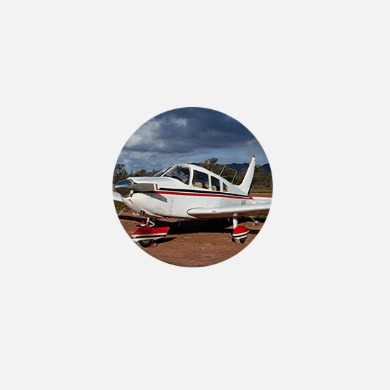 Low wing Aircraft, Outback Australia Mini Button
