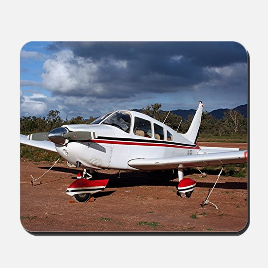 Low wing Aircraft, Outback Australia Mousepad