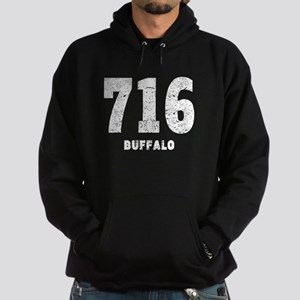 716 Buffalo Distressed Hoodie