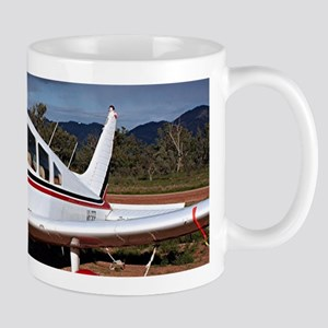 Low wing Aircraft, Outback Australia Mugs