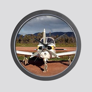 Low wing Aircraft, Outback Australia 2 Wall Clock