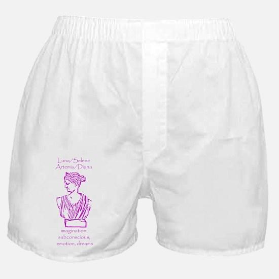 Luna Violet Boxer Shorts