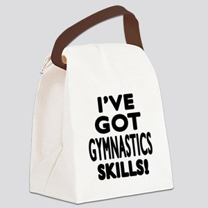 Gymnastics Skills Designs Canvas Lunch Bag