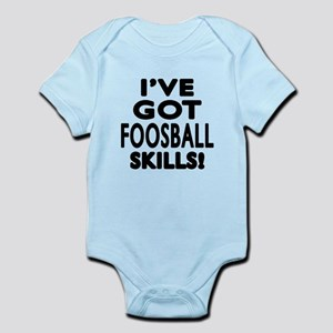 Foosball Skills Designs Infant Bodysuit