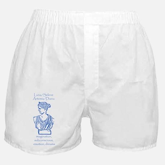 Luna Blue Boxer Shorts
