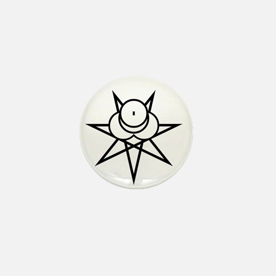Black Seal Mini Button