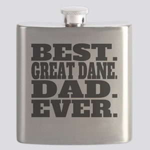 Best Great Dane Dad Ever Flask