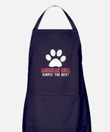 American Curl Simply The Best Cat Des Apron (dark)