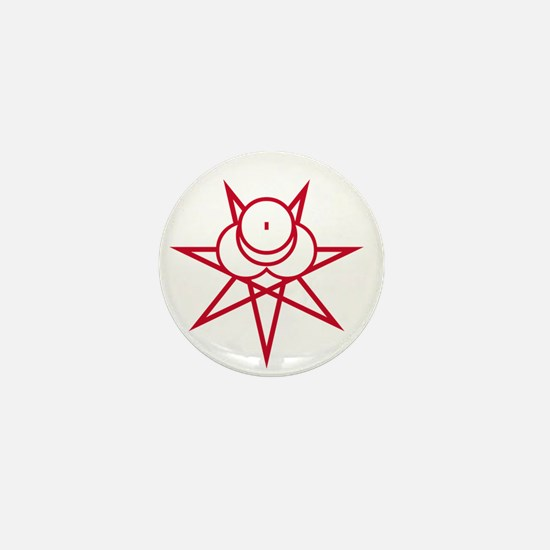 Red Seal Mini Button