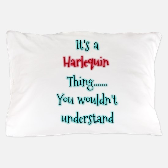 Harlequin Thing Pillow Case