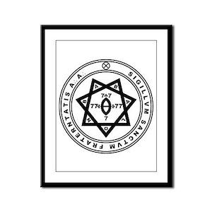 Sigillum Sanctum Fraternitati Framed Panel Print