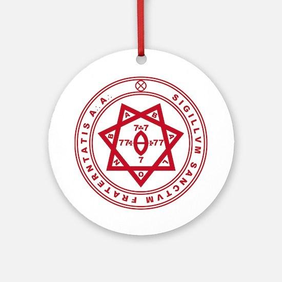 Sigillum Sanctum Fraternitati Ornament (Round)