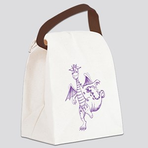 Puff Canvas Lunch Bag
