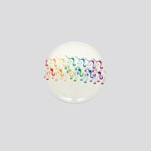 Rainbow Unicorn Mini Button