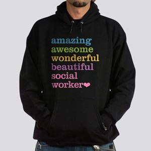 Amazing Social Worker Hoodie (dark)