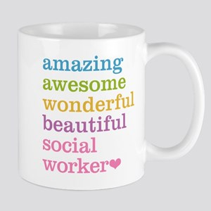 Amazing Social Worker Mugs