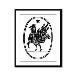 Gnostic Seal Framed Panel Print