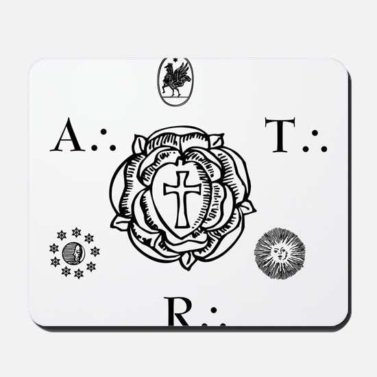 Sacred Seal of the ART  Mousepad