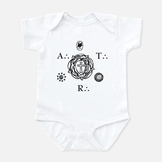 Sacred Seal of the ART  Infant Bodysuit