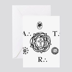Sacred Seal of the ART Greeting Card