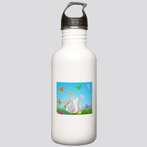 Bunny & Butterflies Water Bottle