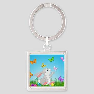 Bunny & Butterflies Keychains