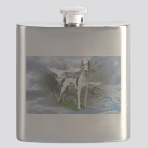 Majestic Dane Flask