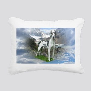 Majestic Dane Rectangular Canvas Pillow