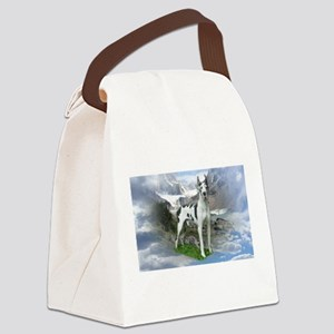 Majestic Dane Canvas Lunch Bag