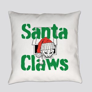 Santa Claws Everyday Pillow