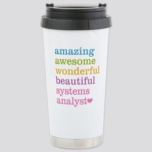 Amazing Systems Analyst Stainless Steel Travel Mug