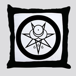 Crowley Seal Throw Pillow