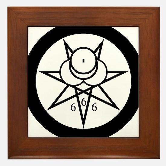 Crowley Seal Framed Tile