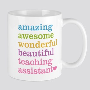 Amazing Teaching Assistant Mugs