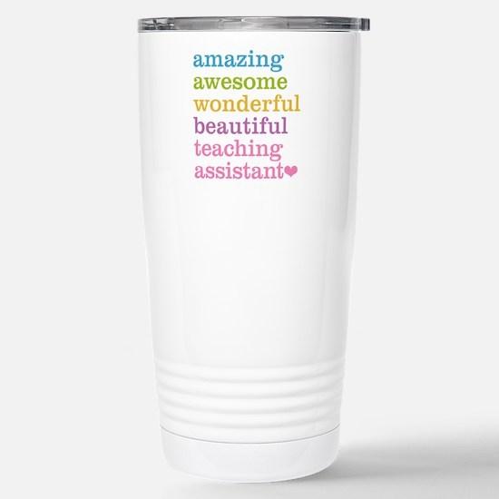 Amazing Teaching Assist Stainless Steel Travel Mug