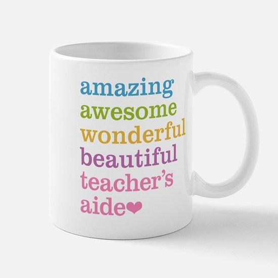 Amazing Teachers Aide Mugs