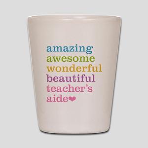 Amazing Teachers Aide Shot Glass