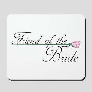 Elegant Friend of the Bride Mousepad