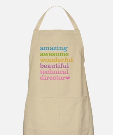 Amazing Technical Director Apron