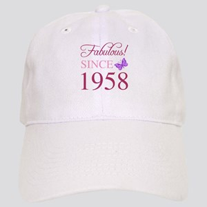 1958 Fabulous Birthday Cap