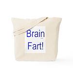 Brain Fart! blue Tote Bag