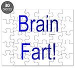 Brain Fart! blue Puzzle