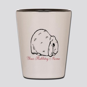 Personalized Mini Lop Shot Glass
